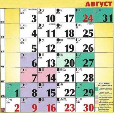 lunnyj kalendar strizhek i okrashivaniya volos avgust 2020