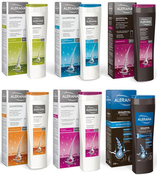 podbor shampunej alerana dlya raznyh tipov volos