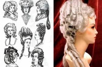 pricheski 18 veka v mode teatralnost i vychurnost
