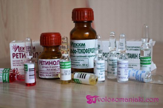 vitaminy dlya volos v ampulah domashnie inekcii i maski
